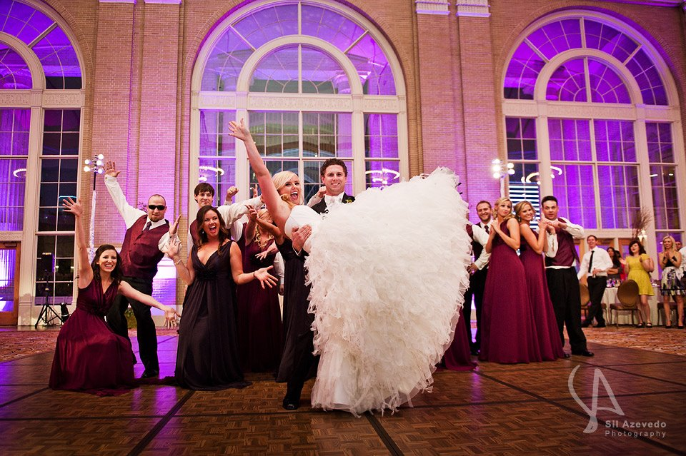 Dallas Union Station Wedding DJ Intros