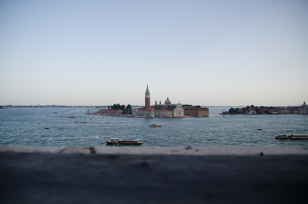 Cemetery island outside venice Italy